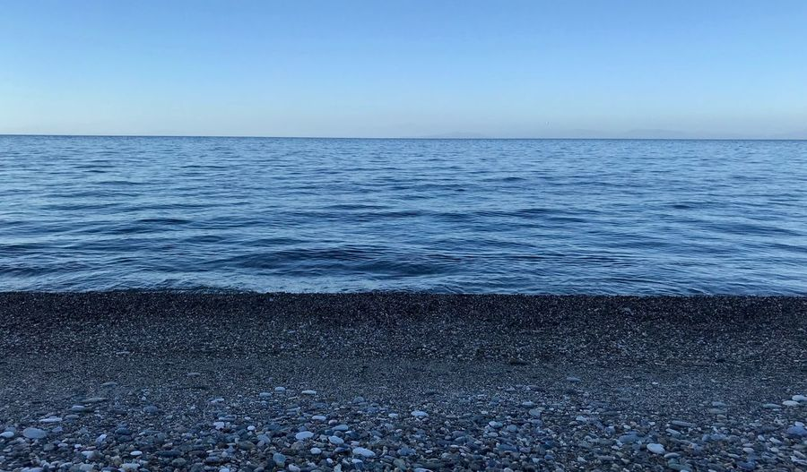 Sea Water Horizon Over Water Horizon Sky Beach Beauty In Nature Scenics - Nature Tranquil Scene Tranquility Nature