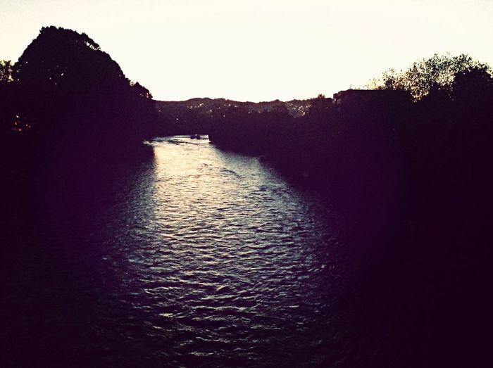 Landscape River Vrbas Riverside