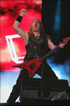 Vader Vocalist Frontman RockPhotography Musicphotographer Concert Photography Hammersonic2015 Hammersonicfest2015