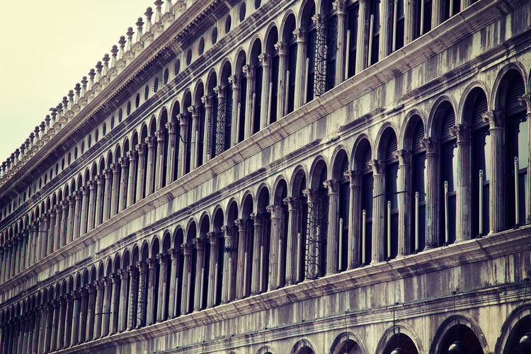 Low angle view of historic building at st marks square in city