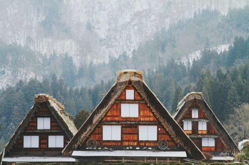 白川郷 Shirakawago 雪景色 雪化粧 風景 Snow Covered WhiteCollection 写真好きな人と繋がりたい 写真を撮ってる人と繋がりたい Other_kei