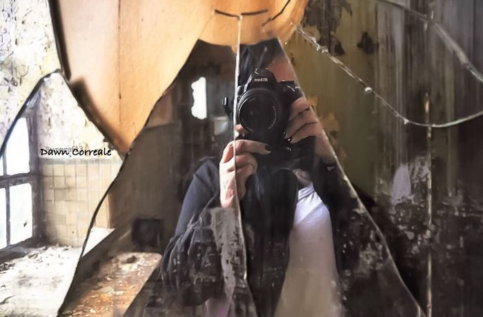 A Self Portrait in an Abandonedasylum Abandoned Buildings Urbexexplorer Abandoned & Derelict Abandoned America From My Perspective Broken Beauty Mirrorselfie