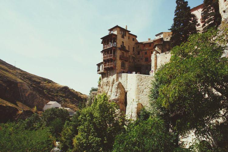 Cuenca Built Structure Casas Colgadas Casas Colgantes Mountain Outdoors No People Nature España🇪🇸 Tourism European City Tranquility Beauty In Nature
