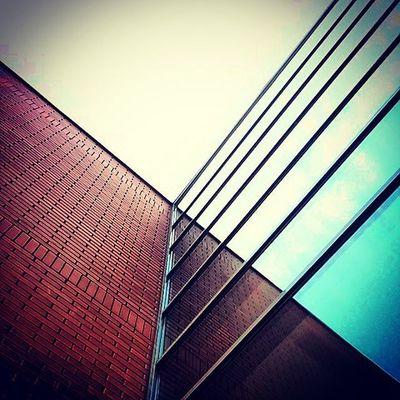 Current mood Budapest Obuda óbudaiegyetem Msc Minimal Architecture Design Urbangeometry Urban Mirrors Reflection Brick