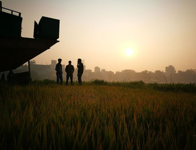 Sunset Friendship Nature Grass Landscape Field Outdoors Beauty In Nature Photographer People Togetherness Day Beauty In Nature Nature