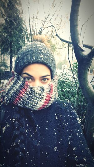 What does winter mean in Istanbul.. Real People Women Portrait That's Me First Eyeem Photo FaceShot Lifestyles Nevergiveup EyeEm Gallery Looking At Camera Womanofstyle Istanbul Cyprus Woman Likeforlike Snowflake Snowfall Snowyday White Cold Eyeem Market Beautiful Style Winter Eyes