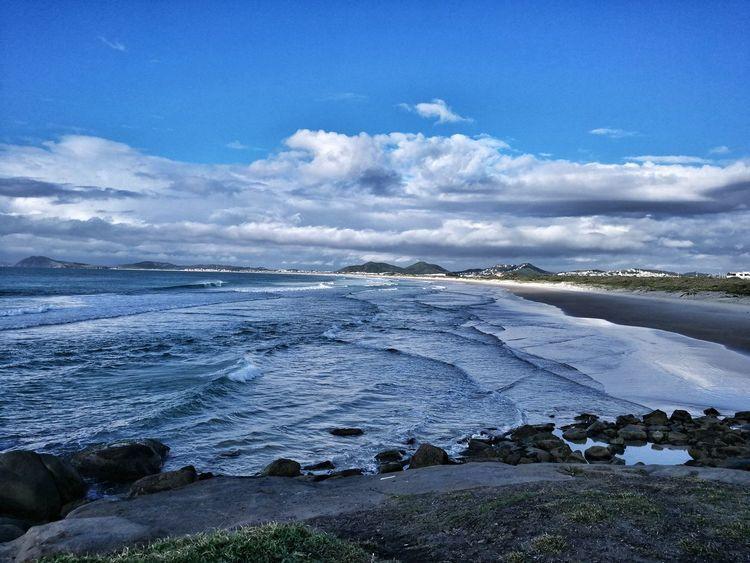Bom dia!!! Beach Sea Naturezaperfeita Exercise Time Huaweimate9
