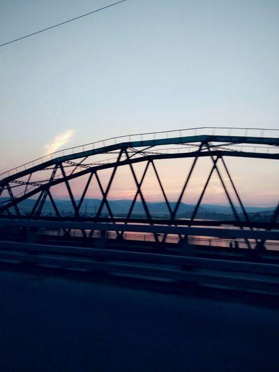 Bridge - Man Made Structure Built Structure Transportation City Industry Water Night Buryatia, Russia, Ulan-Ude EyeEmNewHere