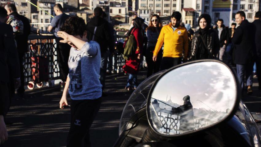 Streetphotography People Istanbul EyeEm Silhouette Urban Street Reflection Mirror EyeEm Istanbul Mist Sea Street Photography