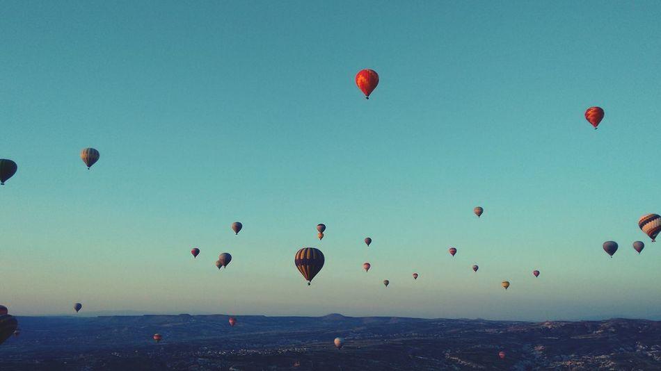 Hundreds! Hotairballoons