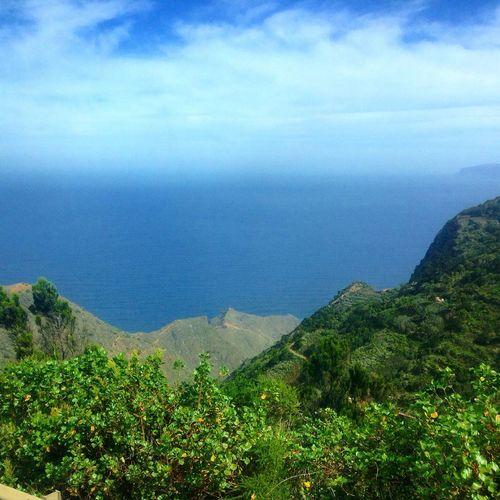 Canary Islands La Gomera Island Holiday View Panorama Beautiful Foliage