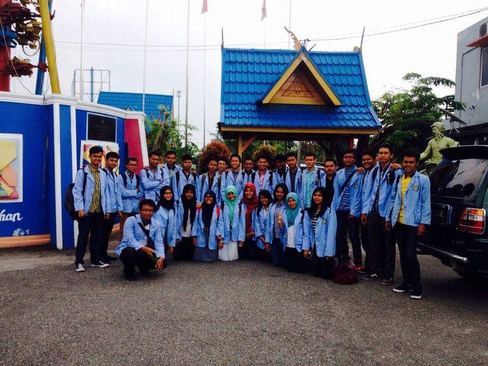 kuliah lapangan Civilengineering Universitas Riau Rekayasalalulintas kelas B '14