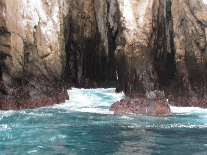 Caves on kicker rock. Magical Galapagos Sea Nature No People Scenery Day Beauty In Nature Outdoors An Eye For Travel