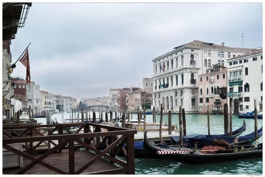 Italia Venedig Venezia Architecture Canal City Gondola - Traditional Boat Outdoors Travel Destinations Venice Water