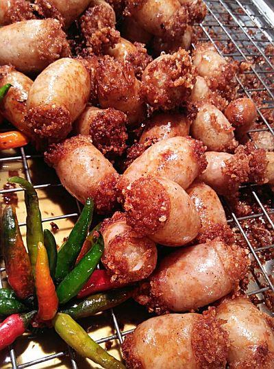 Thai food ไส้กรอกอีสาน Thai Food Can Eat Thailand Phuket Phuket,Thailand