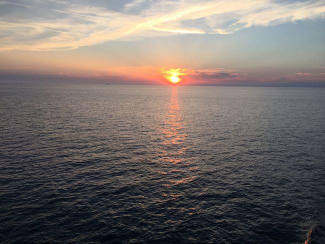 Sea Sunset Ship Life