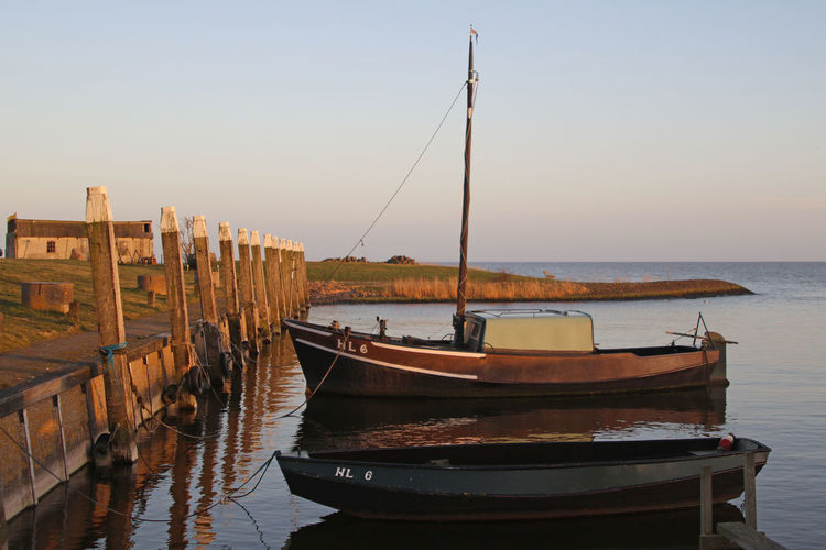 Beauty In Nature Boat Day Horizon Over Water Idyllic Laaxum Mast Mode Of Transport Nature Nautical Vessel No People Ocean Outdoors Rippled Sailboat Scenics Sea Sky Tranquil Scene Tranquility Water FRISIAN♡ Frisian Holland Friesland