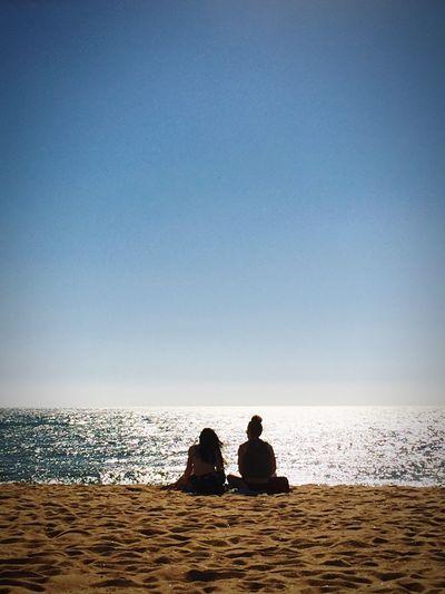 Quarteira Beach; late afternoon