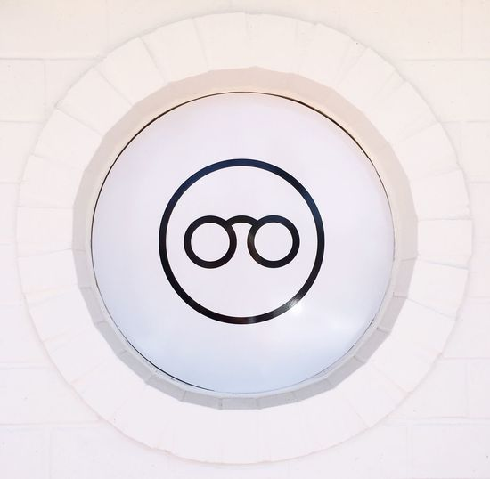 EyeEm Selects Circle Indoors  Backgrounds No People Architecture Close-up Day Sunglasses Detail White Background Blackandwhite Minimalism Copy Space Black And White Circles Pattern