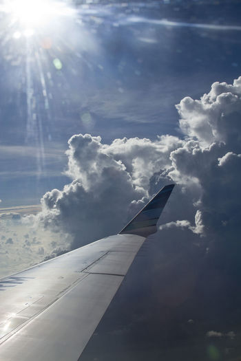 Day Outdoors Cloud - Sky Water No People Sunlight Sky Nature Winglet Winglets Crj1000 Garuda Indonesia