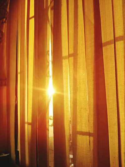 The Sun Reflection Watching The Sunset Just A Minute Ago Having A Good Time Taking Pictures Orange The Curtain Of My Room Doyoulikeit? Check This Out