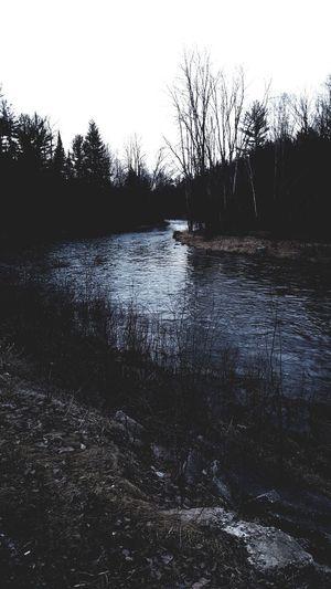 Rifleriver River Dusk