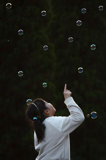 Bubbles Girl