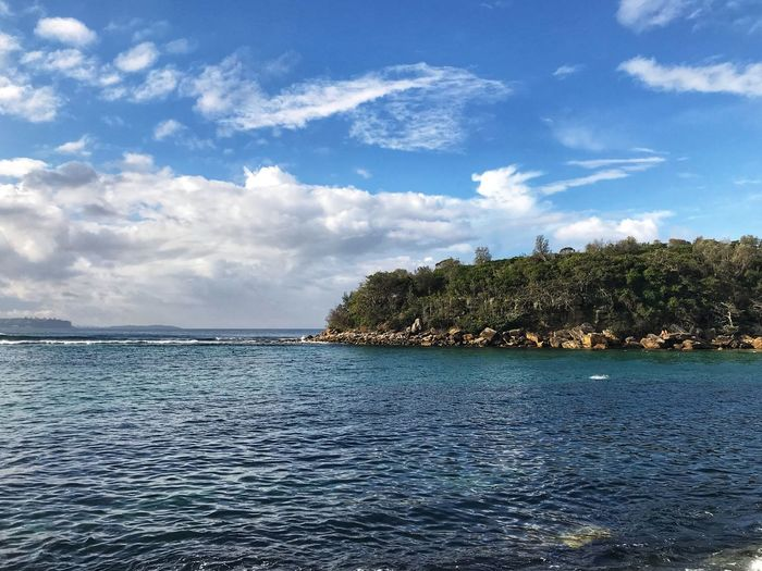 Shelly Beach Sky Water Cloud - Sky Tree Sea Beauty In Nature Scenics - Nature Tranquil Scene Nature Waterfront Rippled Day No People Blue Tranquility Outdoors Non-urban Scene Idyllic My Best Travel Photo