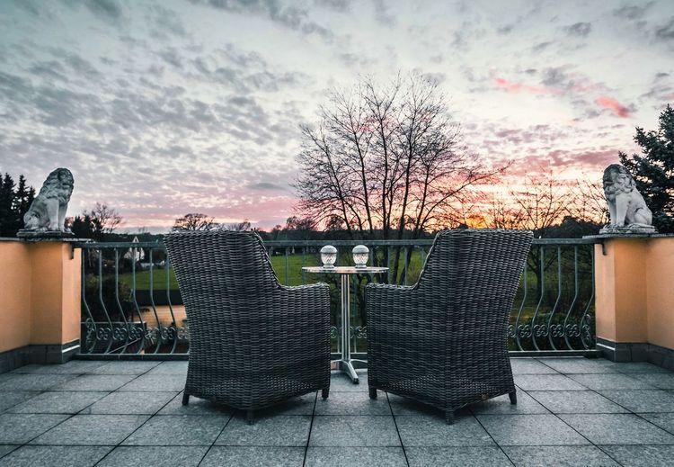 Sunset terrace