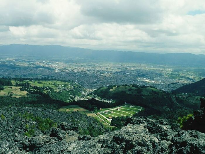 Missionary Memories Mision Quetzaltenango Quetzaltenango Cerrito Quemado Nature And City Sky And Clouds