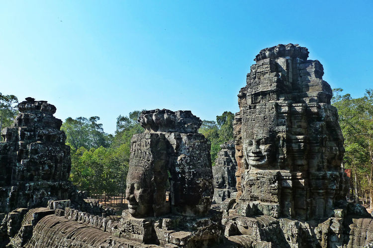 Ancient Ancient Ancient Architecture Ancient Civilization Ancient History Ancient Ruins Angkor Thom Architecture Architecture Bygone Times Cambodia Eyeem Cambodia Eyeem History History Human Representation Khmer Empire No People Old Ruin Place Of Worship Place To Be  Travel Destinations