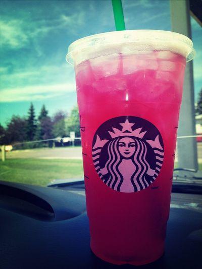 i think im way to addicted... Starbucks Everyday Life Passion Fruit