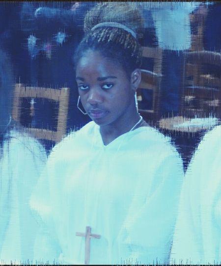 Faith Sunday Mass Praying Young Girl