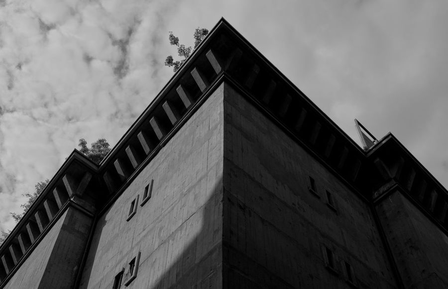 Architecture Building Building Exterior Built Structure Cloud - Sky History Low Angle View Wall - Building Feature