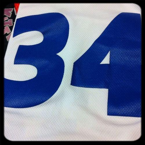 MY Jersey #34 Southwood
