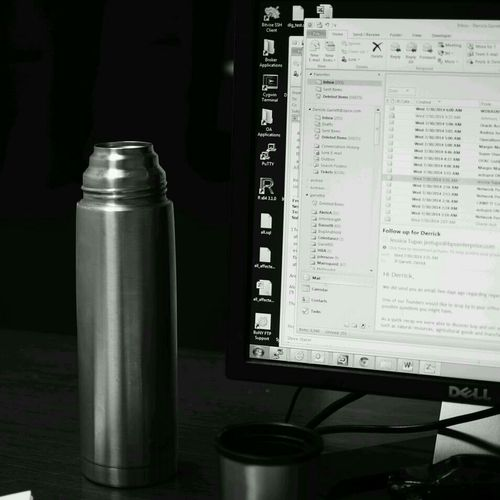 out of Earl Grey Tea again... Working Thirsty  Thermos