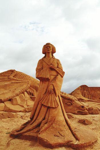 Sand Sculpture Sand Sculptures Art Imagination Sand Sculpture Park Sand Sculpture No People