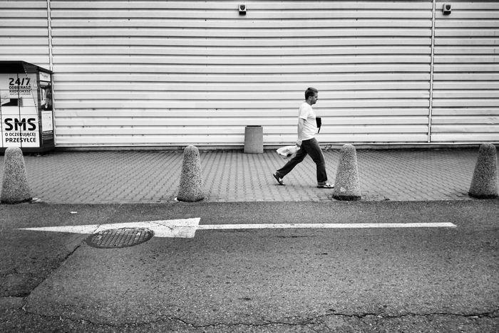 Blac&white  Street Photography Pepole Jaworzno