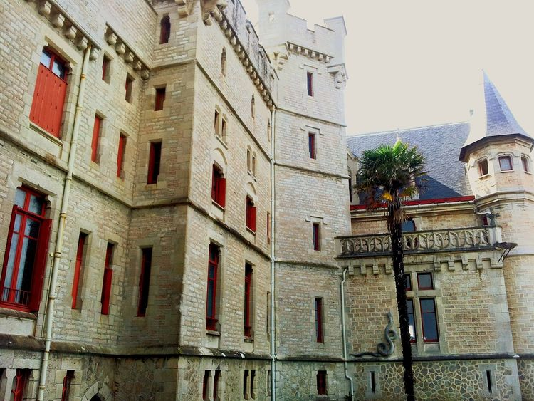 Castle Architecture Château Pays Basque France Historical Building Monument Historical Sights Sightseeing Enjoying The Sights