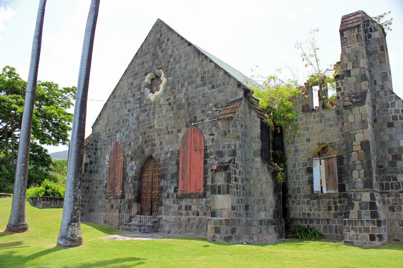 Old Church Architecture Building Exterior Built Structure Caribbean Island Caribbean Sea Forts Old Buildings Old Churches Outdoors St. Kitts Structures Travel Destinations Vacations