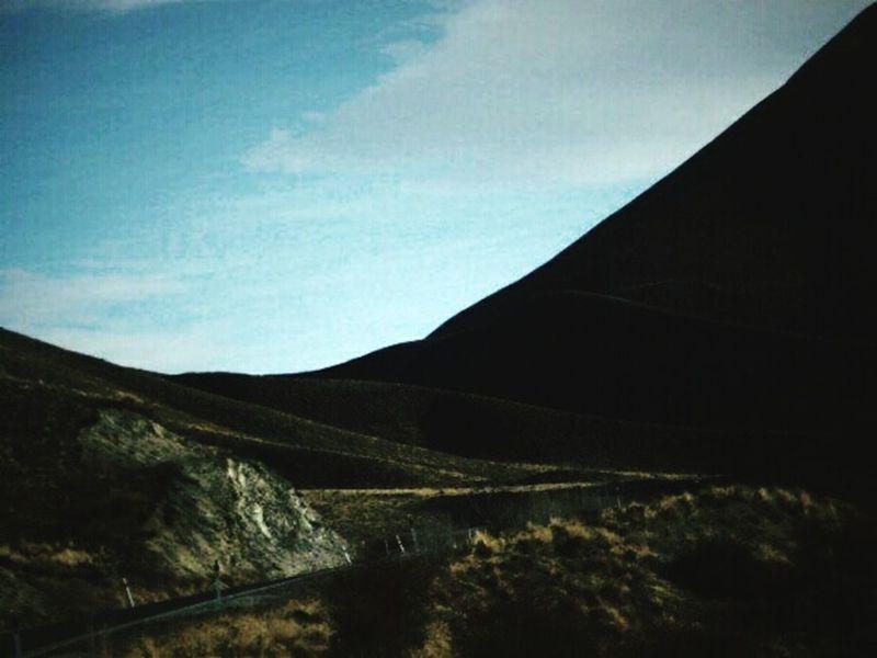 Desert Desert Road Broody Landscape