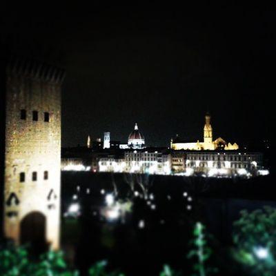 Firenze Vista Panorama Nottediprimavera bellezza