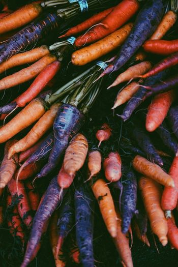 Detail shot of carrots