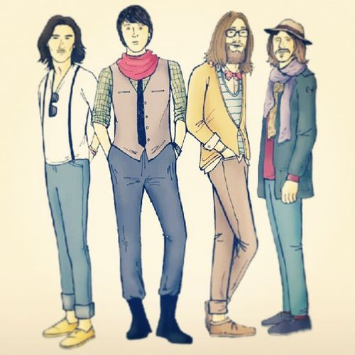 Beatles hipsters puessssss hahahaha... TheBestlrs Hipster Blahblahblah