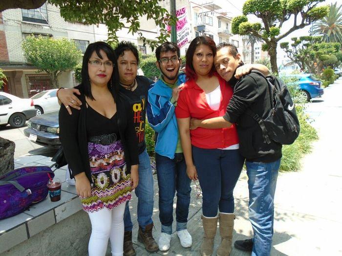 My friends.