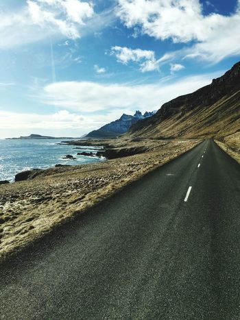 Road Coastline Coast Driving Great View Atlantic Ocean Iceland_collection Iceland116