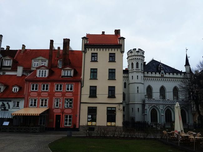 April2016 Day3 Riga Old Buildings Old Town Morning Citycenter