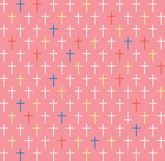 Cross Shape Pattern On Wall