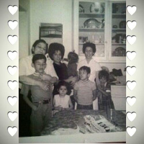 Memories ... miss my grandmother. TBT  Missingmommy Mymom Auntlulu uskids mybrother cousins me turnaroundsandra