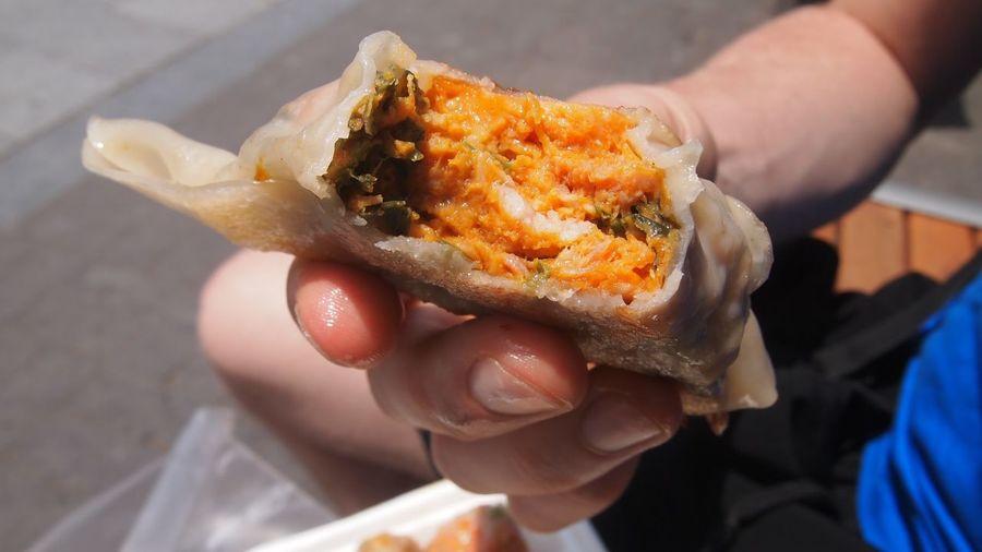 Day Dumplings Freshness Korea Korean Food Market No People Seoul Street Food Street Food Worldwide Traditional Food